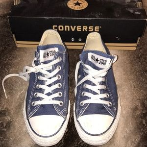 Converse sneakers navy